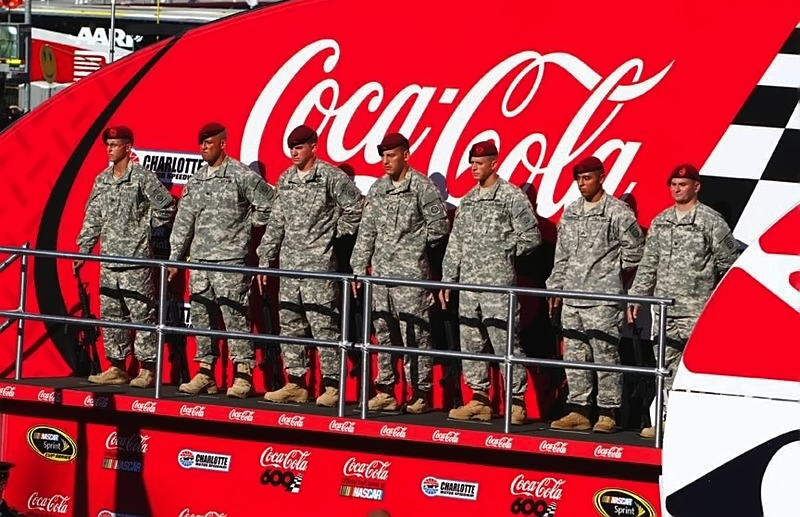 NASCAR Coke