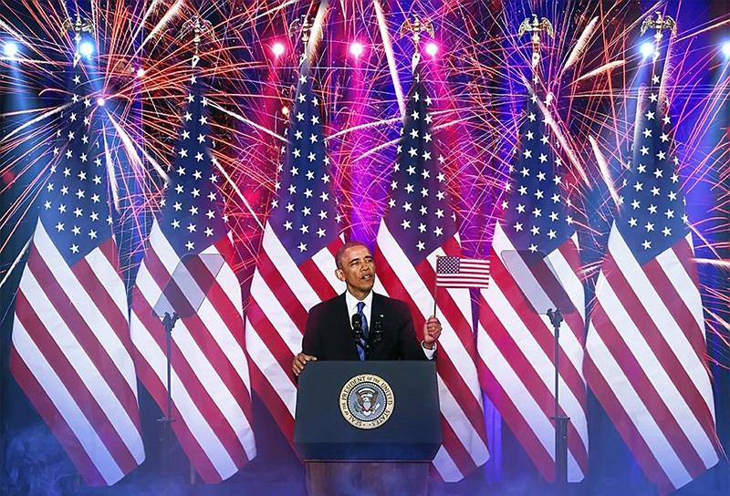 Obama fireworks USA #1