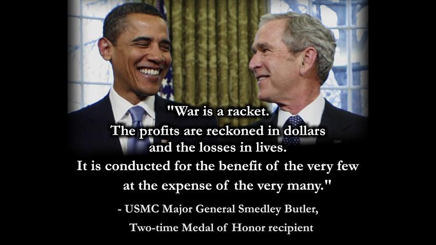 war is a racket Smedley Butler