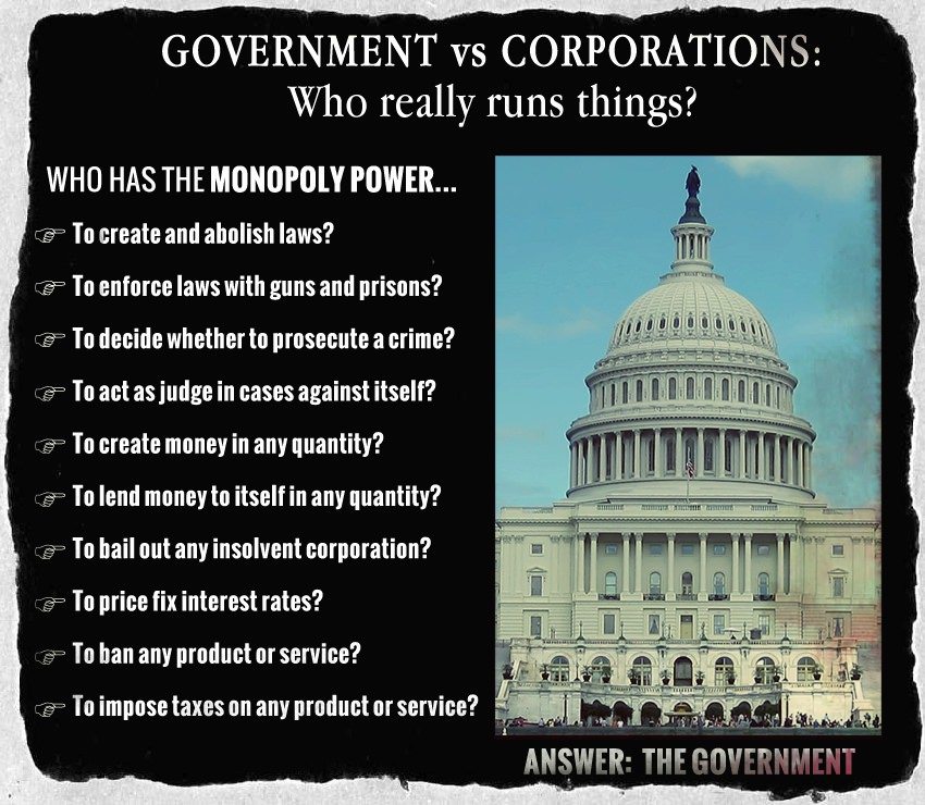 Government vs Corporations