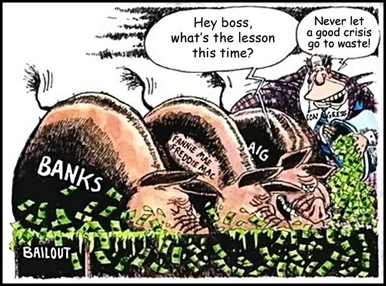 bailout lesson