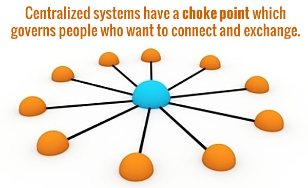 In centralized systems power and choice are not equally distributed