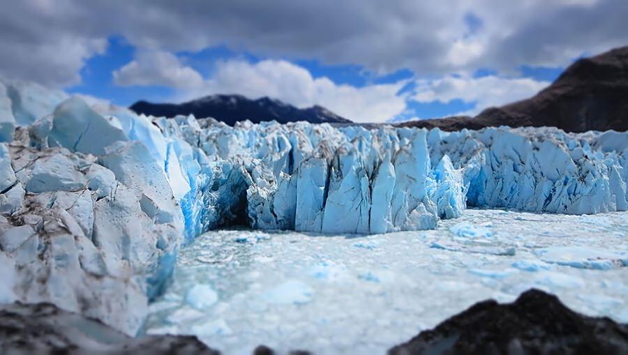 Patagonia glacier
