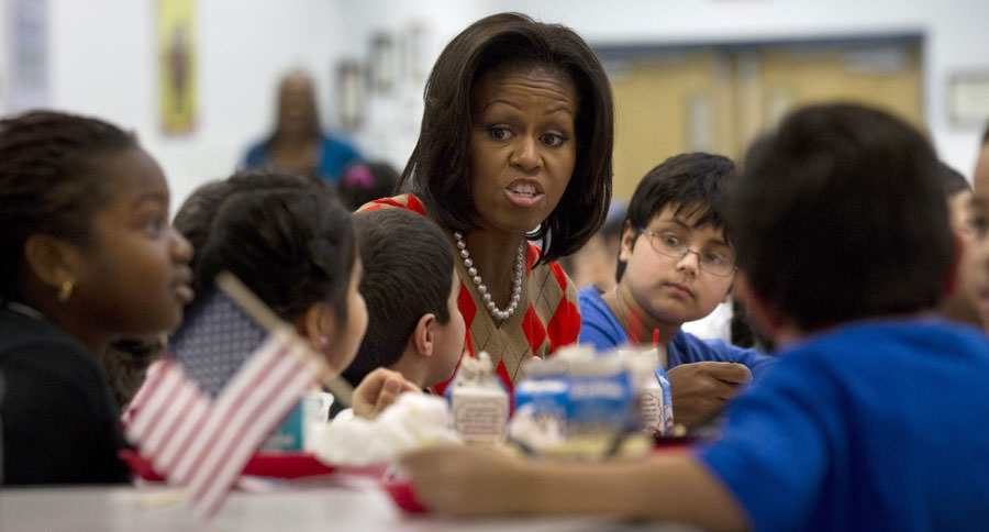 Michelle Obama is Spreading Gross Food Lies