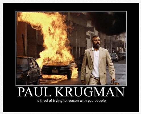 Krugman Strikes Again: Lower Prices Are Un-American