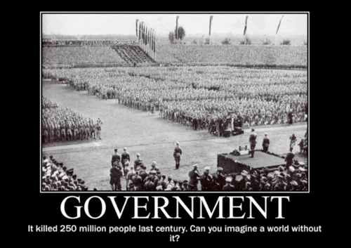 "The word itself is self explaining: ""GOVERNMENT"""