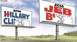 The Death of Politics: Hillary in front of Empty Rooms, Jeb Bush Begging for Applause and at Drive-Thru's