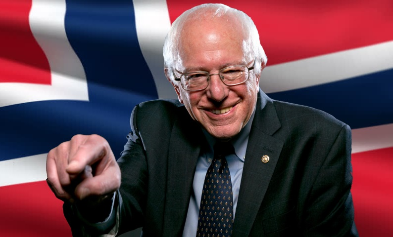 Bernie Sanders is NOT a Scandinavian style socialist