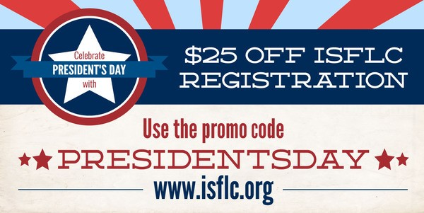 Last call for ISFLC16 Discounts!