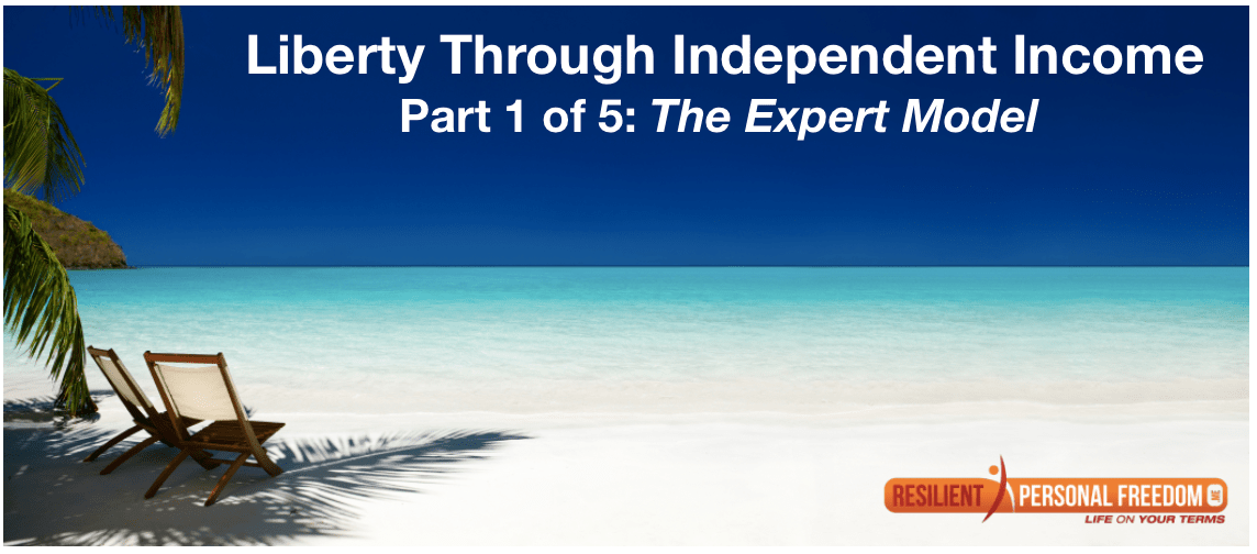 Liberty Through Independent Income – Part 1: The Expert Model