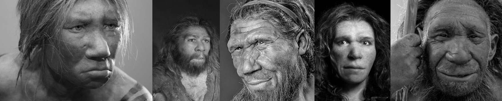 Forensic and artistic reconstructions of Homo Neanderthalensis. They seem like nice enough folks. What if they moved? Would we understand their facial expressions?