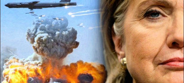 Hillary Clinton's foreign policy - bombs and nukes
