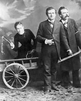 Friedrich Nietzsche enjoys BDSM with Paul Ree and Lou von Salome