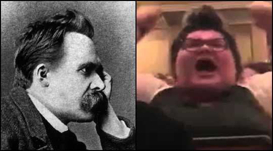 Free Speech, Nietzsche, and the Morality of the Left