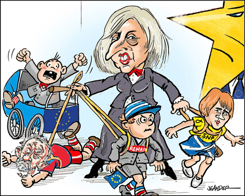 May is Lucky in her Enemies