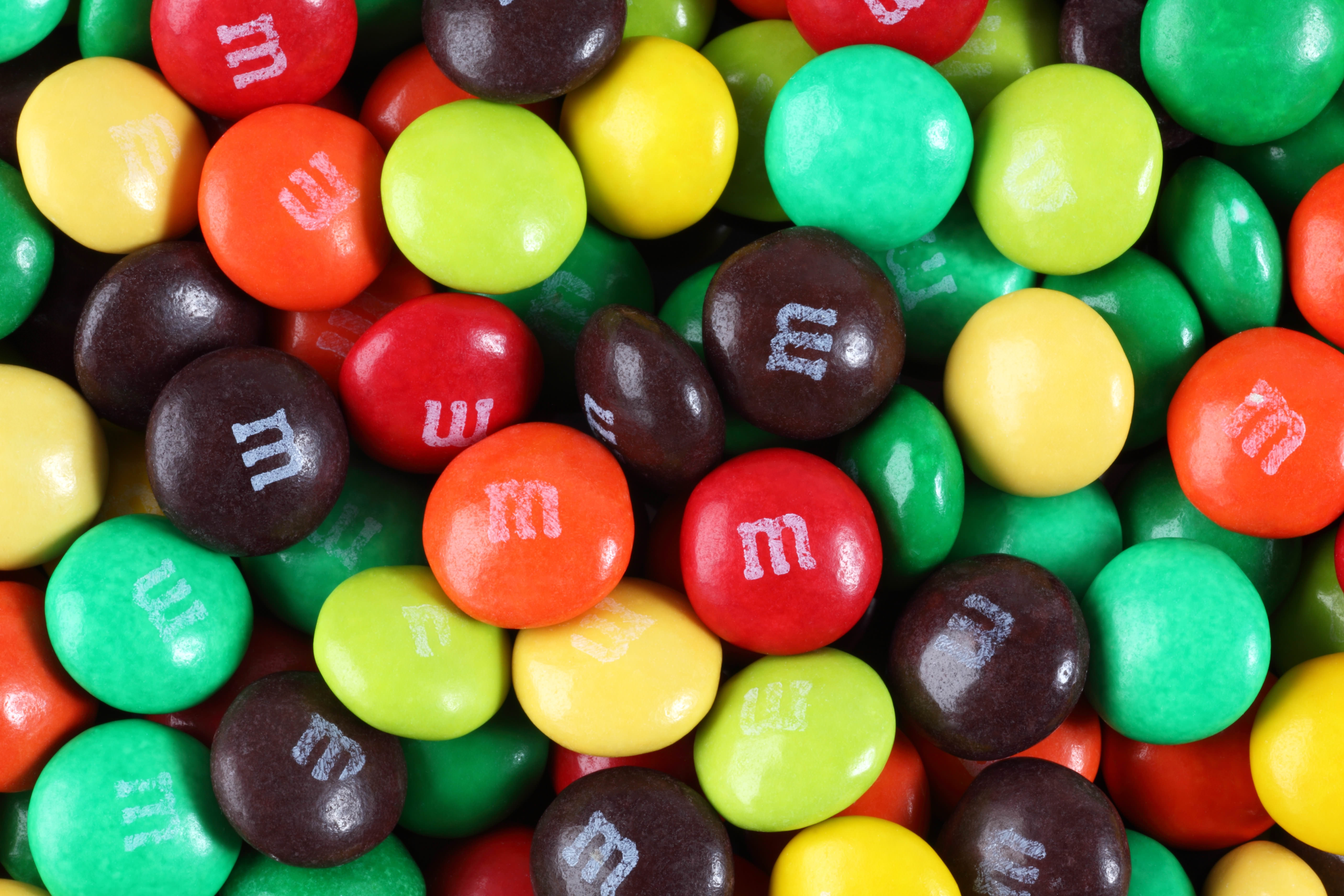 The Power and Glory of M&Ms