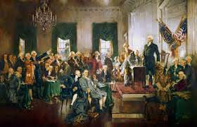 The US Constitution, The Articles of Confederation.