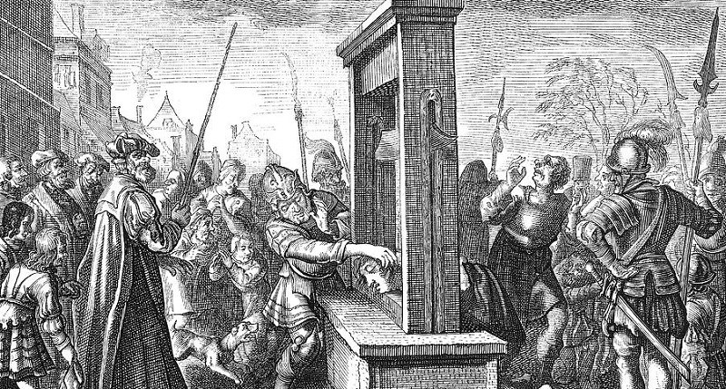 guillotine-16th-century
