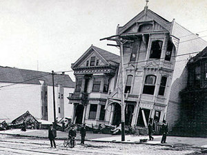 Roofs or Ceilings: the San Francisco earthquake of 1906