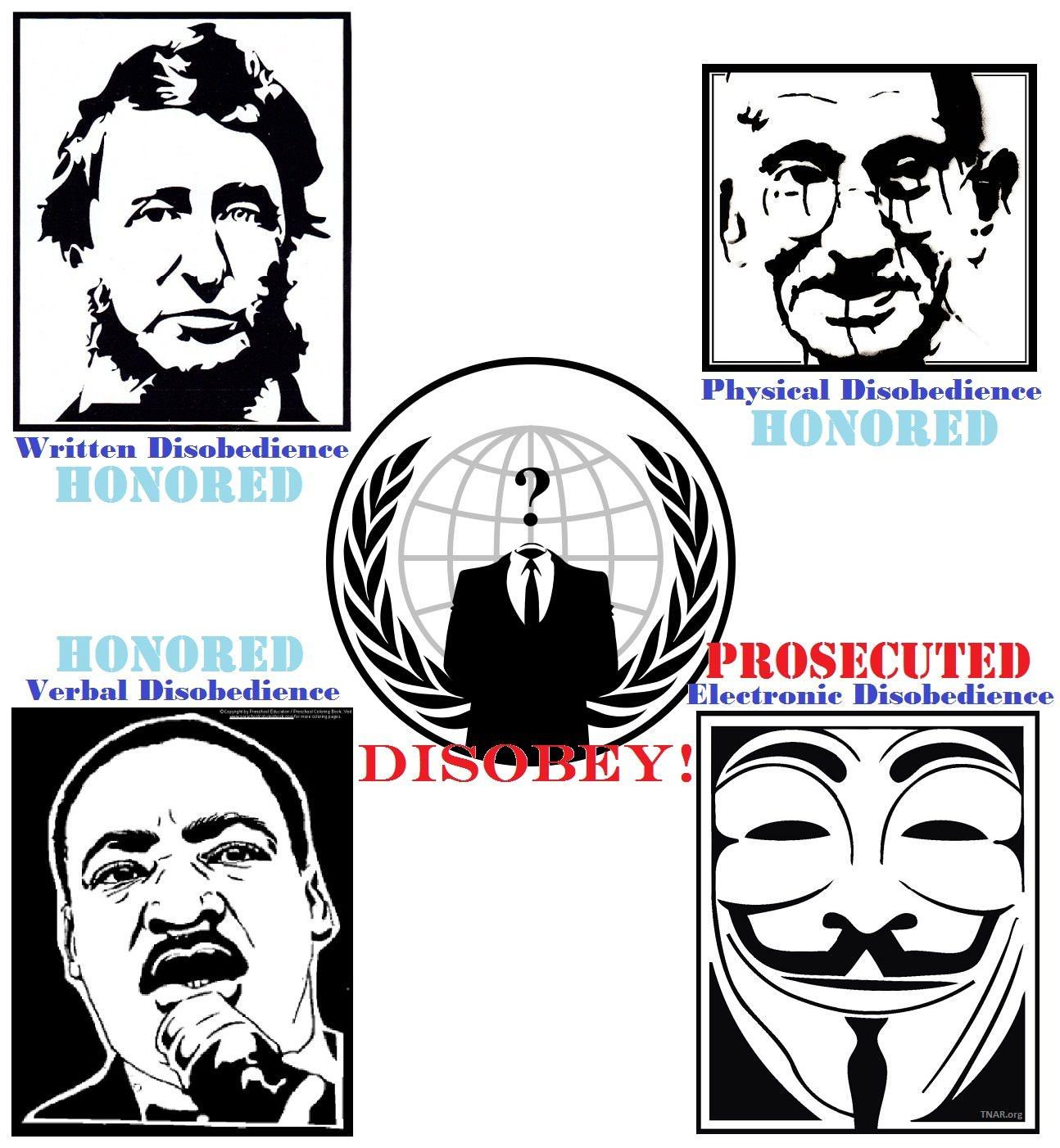 #TotD: Civil Disobedience