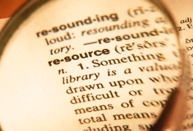 Understanding Resources