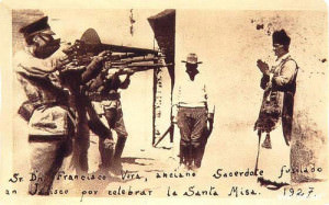 In 1927, only 87 years ago, Fr. Francisco Vera was executed by firing squad for defiantly holding a public Mass against Mexican law.