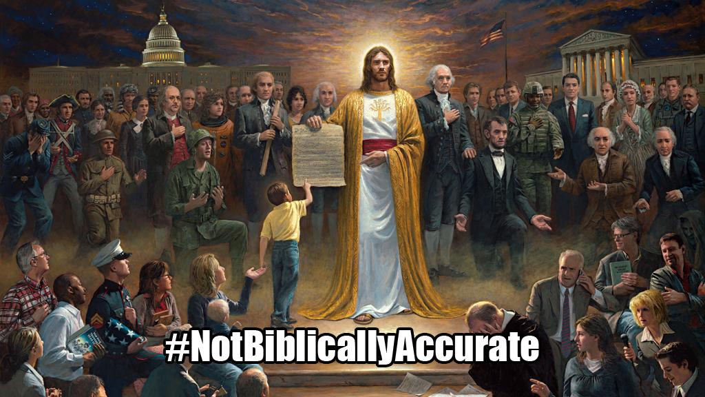 #NotBiblicallyAccurate