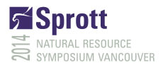 Invitation to the Sprott Vancouver Natural Resource Symposium