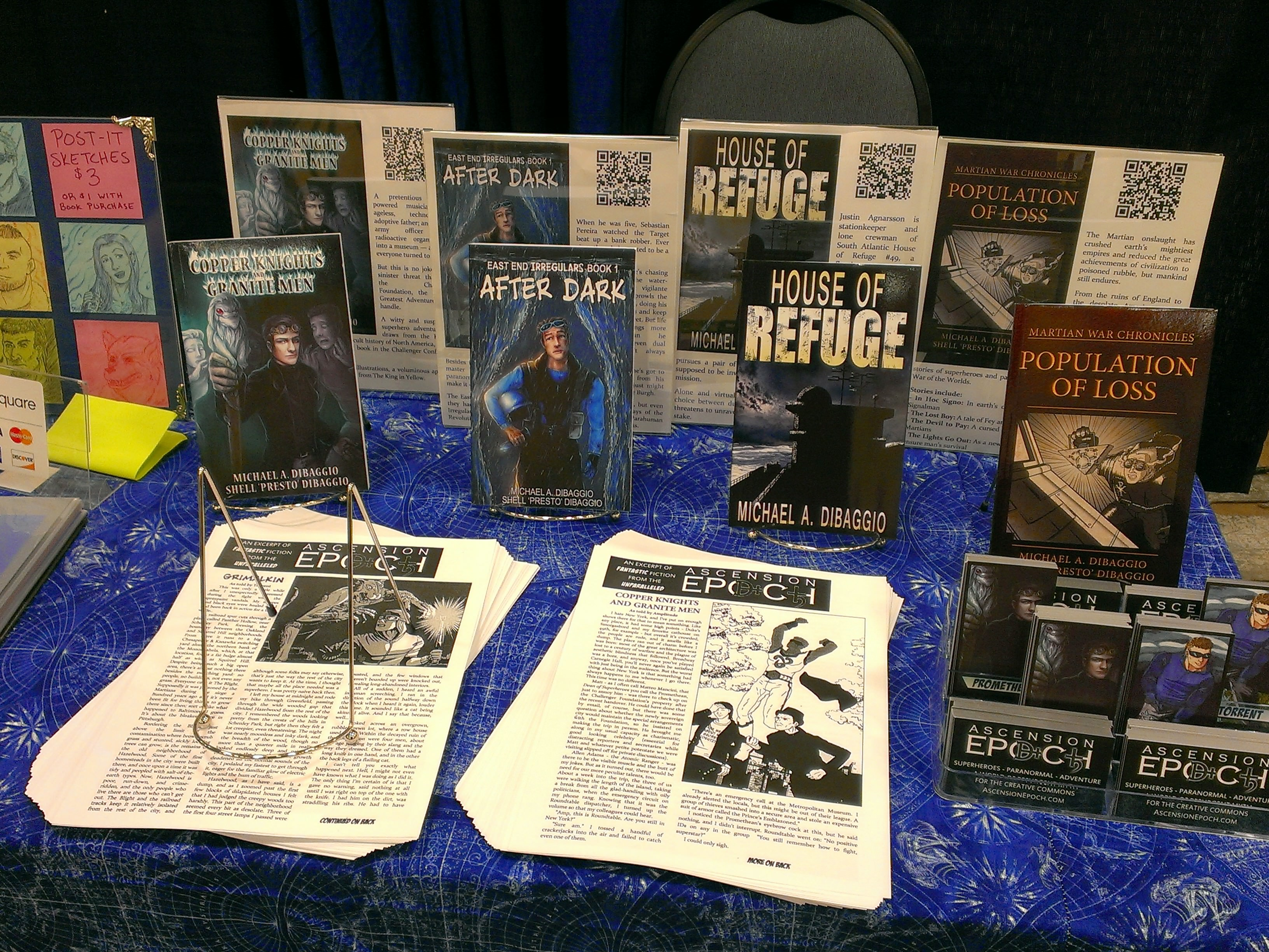 An Independent Author's Insights From His First Convention
