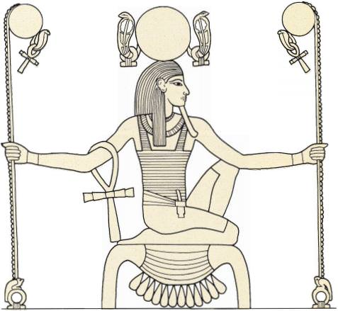 heh-on-tutankhamun-chair-egyptian-gods