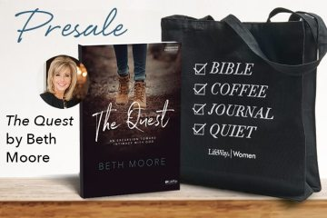 Preorder Beth Moore's NEW Study and Get a FREE GIFT!