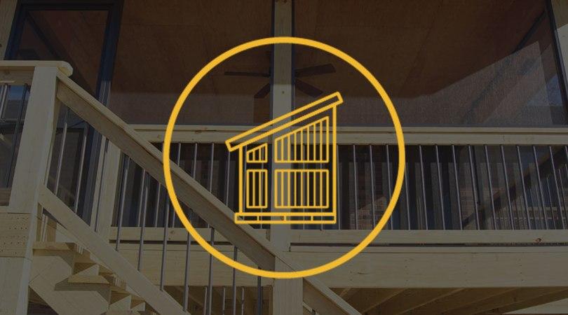 TrueSon Exteriors screened porches service icon