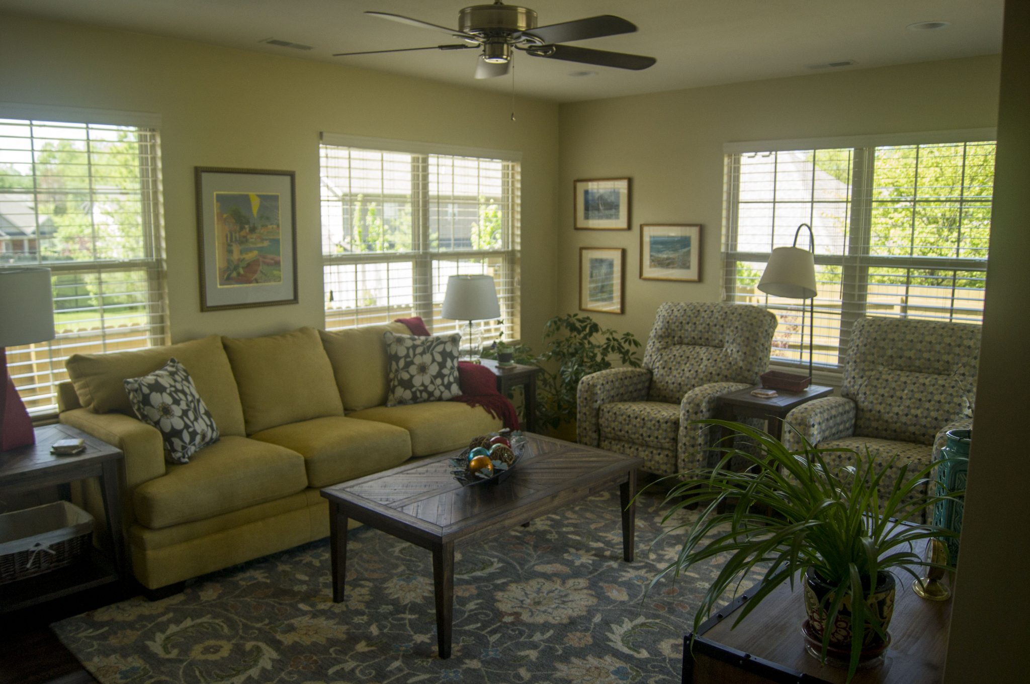 Inside of home | Living Room| Serviced by TrueSon Exteriors
