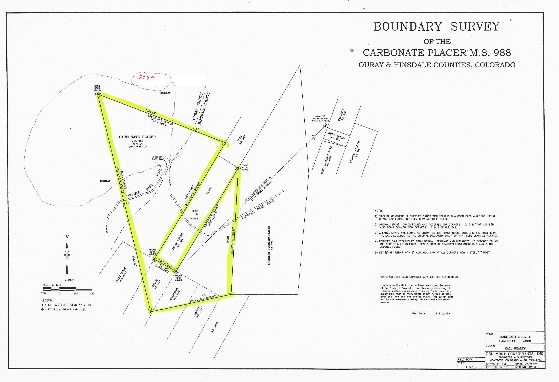 57 5 Acres In Hinsdale County Colorado