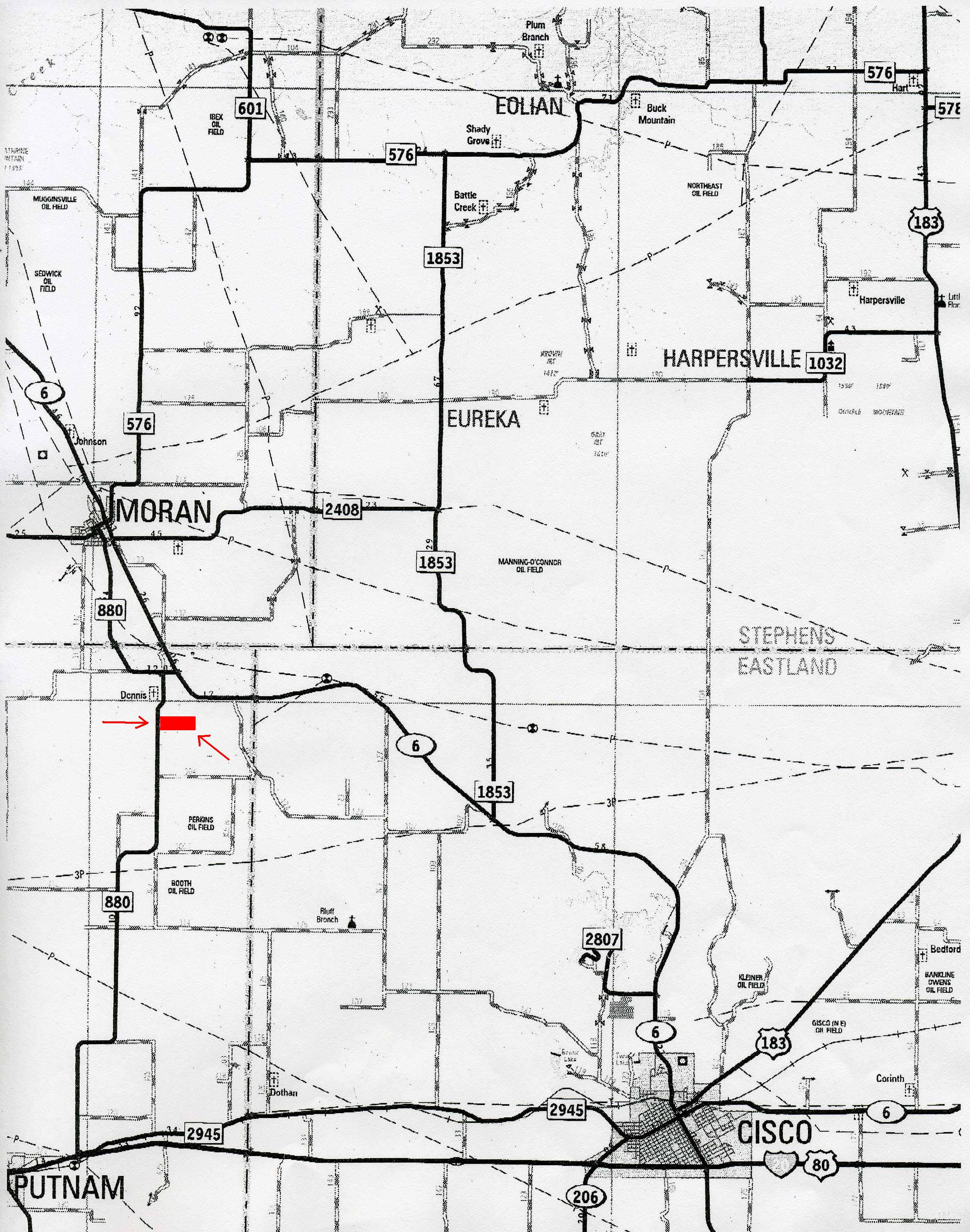 119 62 Acres In Callahan County Texas