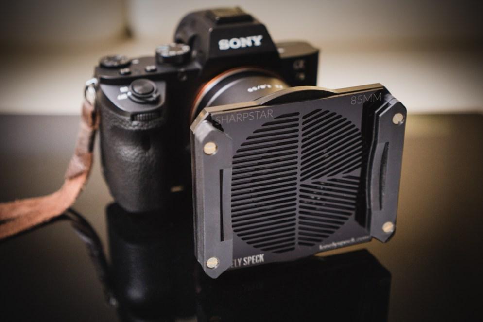 SharpStar in 85mm Formatt-Hitech Aluminum Modular Filter Holder