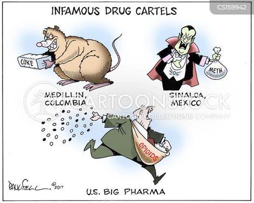 Opioid Epidemic News and Political Cartoons