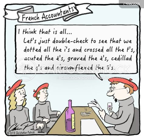 Image result for diacritical marks cartoon