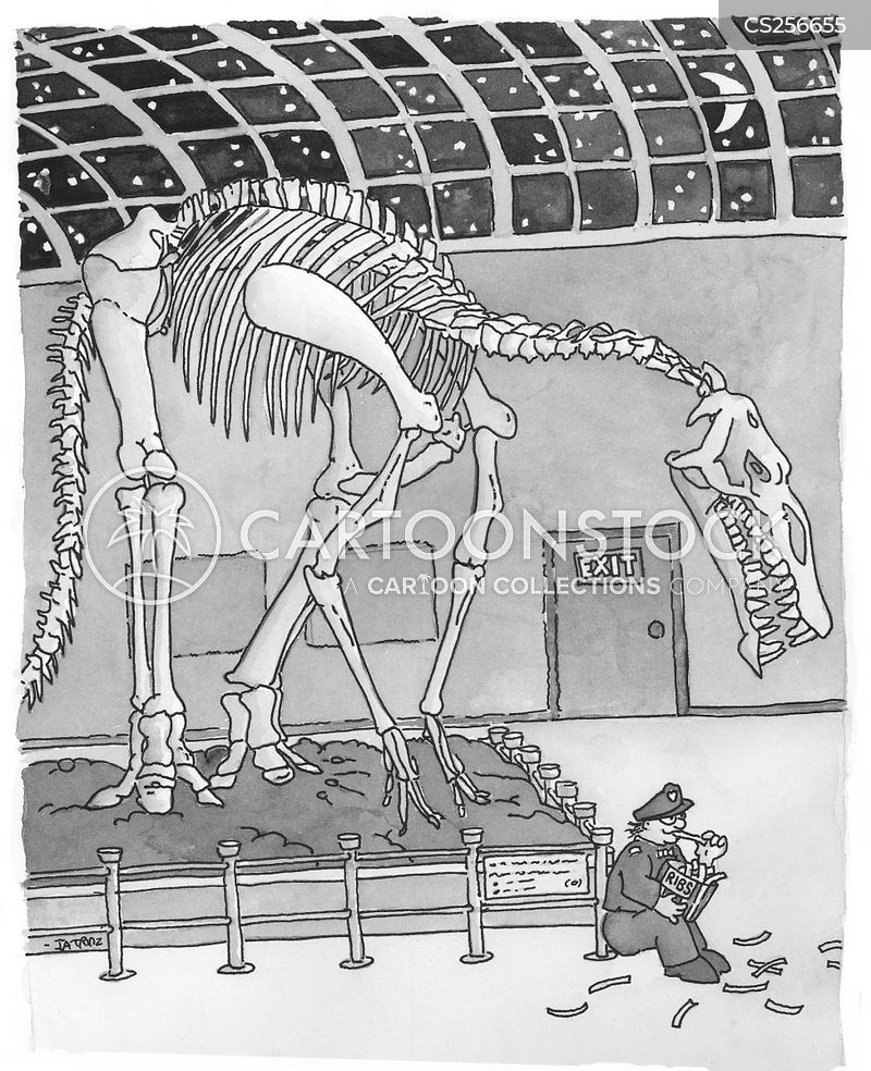Dinosaur Bones Cartoons And Comics Funny Pictures From