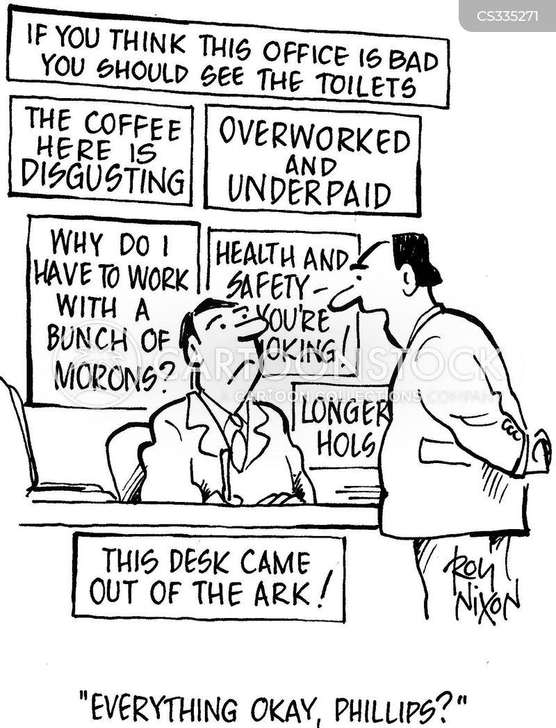 Funny Safety Slogans Cartoon
