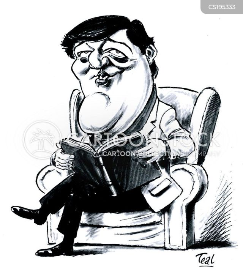 Blackadder Cartoon