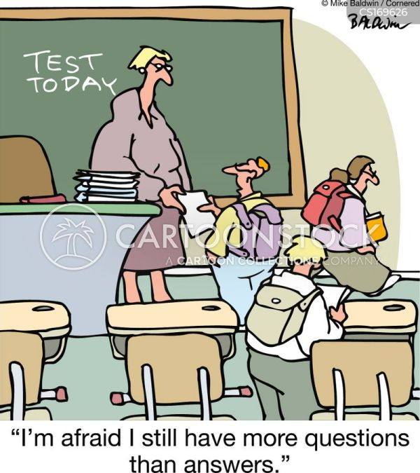 Asking Questions Cartoons and Comics - funny pictures from ...
