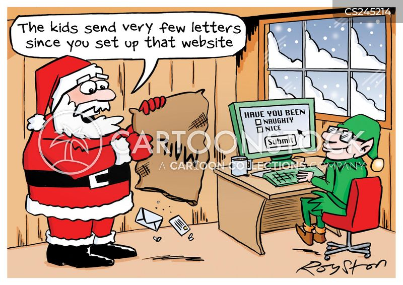 Christmas Elf Cartoons And Comics Funny Pictures From
