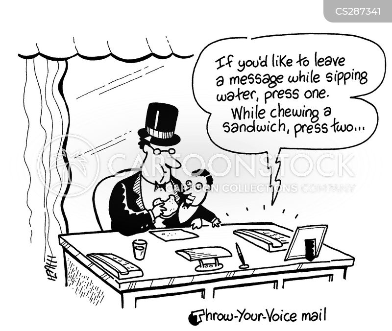 Leaving Messages Cartoons and Comics - funny pictures from ...