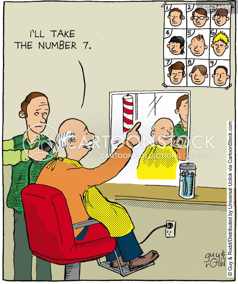 Hairdresser Cartoons And Comics Funny Pictures From