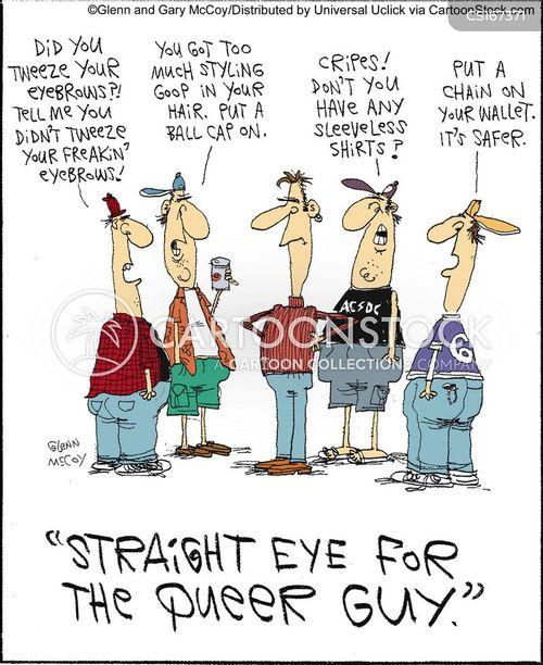 Gay Man Cartoons Gay Man Cartoon Funny Gay Man Picture Gay Man
