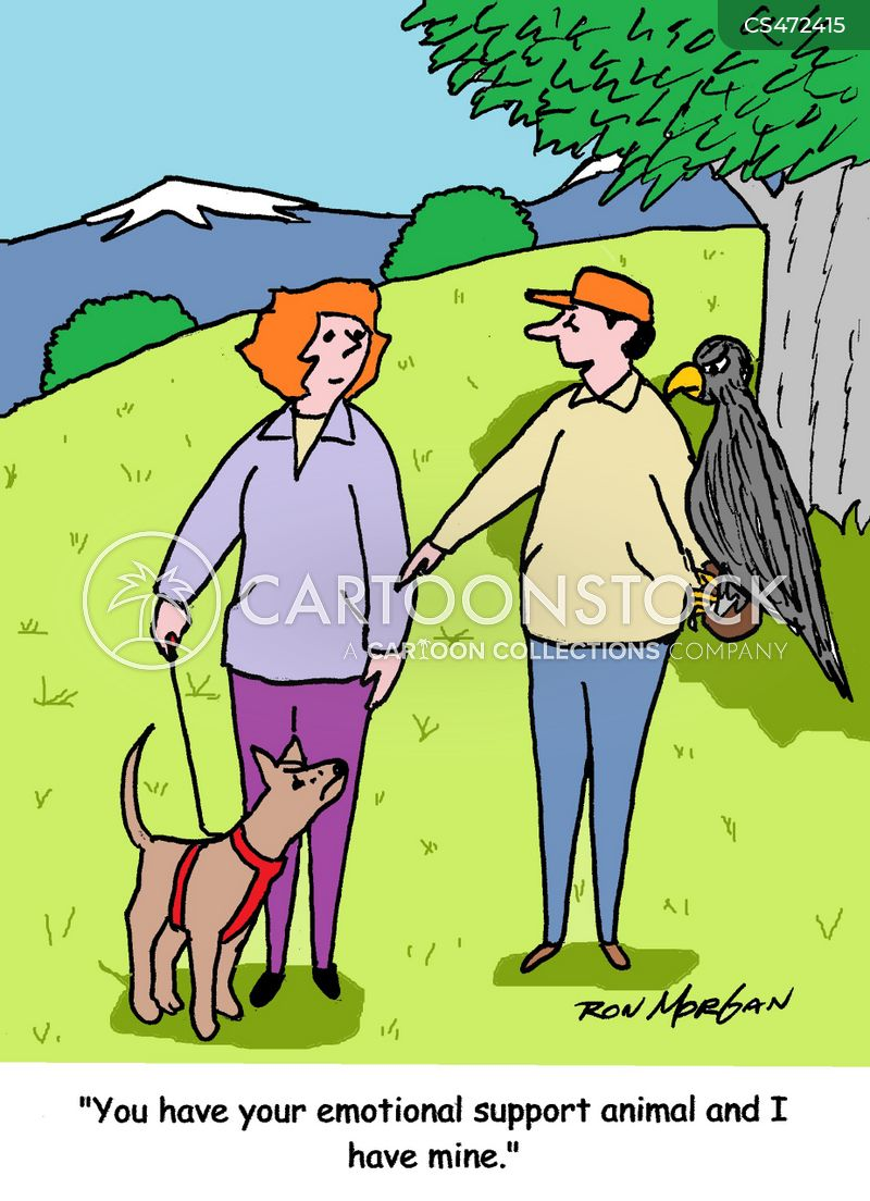 Image of: Terriermans Emotional Support Animal Cartoon 15 Of 15 Cartoonstock Emotional Support Animal Cartoons And Comics Funny Pictures From