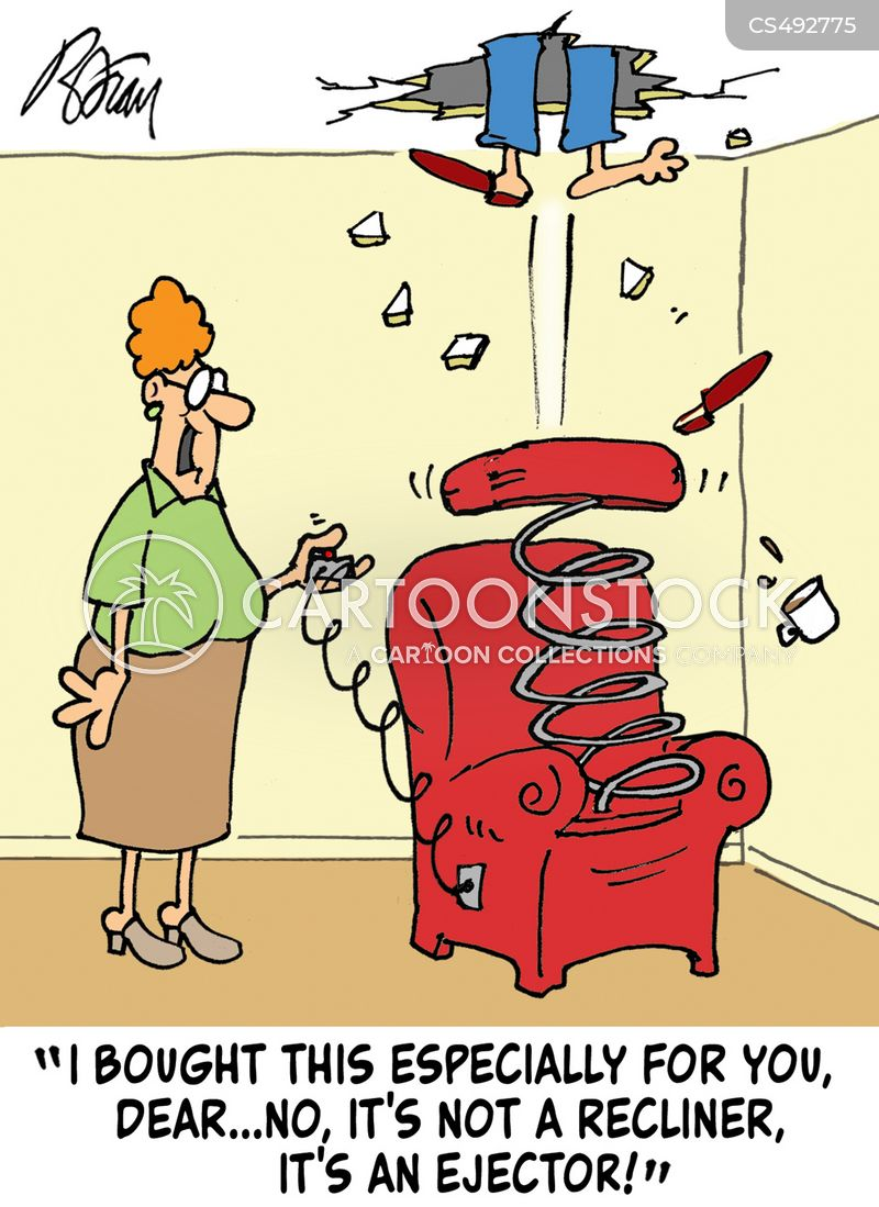 Recliner Chair Cartoons And Comics Funny Pictures From