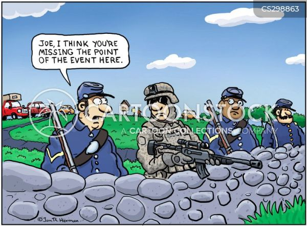 Union Soldiers Cartoons and Comics - funny pictures from ...