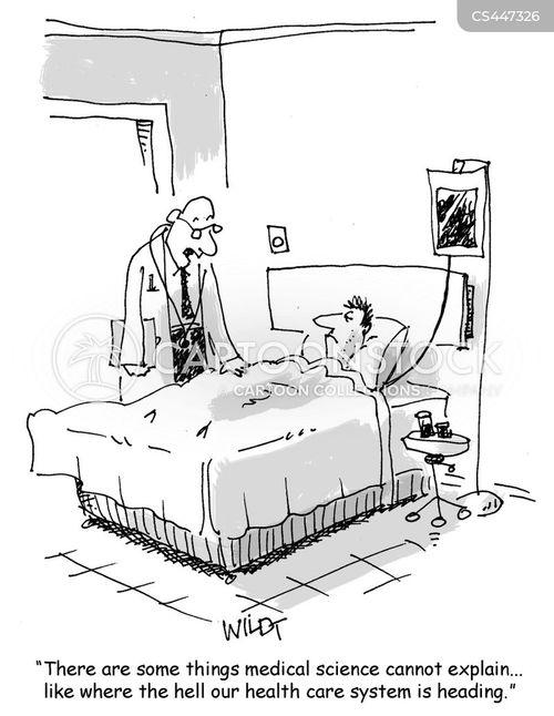 Cartoon – Limitations of Medical Science | HENRY KOTULA